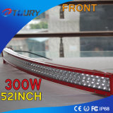luz auto del trabajo del coche del carro de la fila del doble de la barra ligera de 300W LED