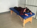 Base del masaje y vector de madera del masaje de la madera