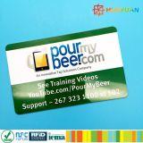 PVC MIFARE en blanco de la alta seguridad RFID más tarjeta de S 2K
