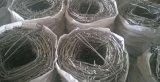 Usine enduite de barbelé de PVC de Bwg 14