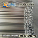 SUS304 Material Straight Running Flexible Rod Fast Freeze Mesh Belt para processamento de alimentos