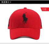 卸売100%年ポリエステル野球帽、特別なオットマンファブリック帽子の