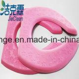 De roze Zetel Cushionx van het Toilet van de Badkamers van de Kleur