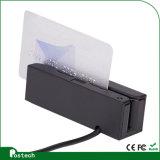 새로운 Portable RS232 Msr100 Hi/Lo CO 3 궤도 소형 자석 줄무늬 카드 판독기