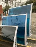 Parede de alumínio Lexan Garden Canopy usa suportes de fibra de vidro para venda (800-A)