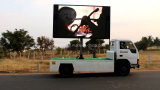 Display Trailers Large Publicidade LED Screen Truck Mobile Display