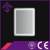 Specchio della stanza da bagno del bordo smussato rettangolo di Jnh164 Cheappolished con l'indicatore luminoso del LED