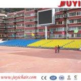Jy-716 beste Plastic Tip-up Intrekbare Bleacher van het Systeem van de Plaatsing van de Gymnastiek Telescopische Zetels