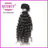 100% tissages péruviens purs de cheveux humains de Remy de Vierge de Remy