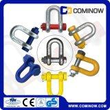 G2150 Us Tipo Drop Forjado Chain Shackle com parafuso de segurança e tipo de noz / parafuso Dee Shackle