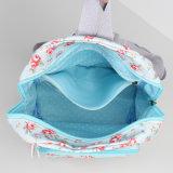 Свет - голубой водоустойчивый мешок Backpack холстины PVC (23206-1)