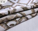 Reticolo rettangolare del jacquard del tessuto del sofà senza Chenille