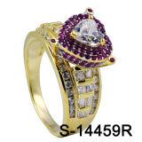 공장 Hotsale 힙합 보석 다이아몬드 반지 은 925