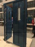Дверка топки Listed двойных листьев UL стальная (CHAM-ULSD003)