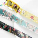 Fabricación de papel adhesiva de la cinta adhesiva del diseño del cliente