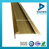 Profil en aluminium des bons prix de 6063 séries pour la garniture de tuile