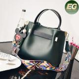 광저우 공장 최신 형식 적중 색깔 핸드백 다채로운 결박 Sy8153를 가진 귀여운 부속품 여자 끈달린 가방