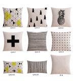 Напечатанные подушки пинка квадрата 18 дюймов для украшать кровати