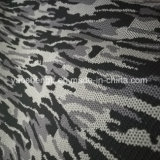 Camuflagem Pattern Design Knitting Tecido