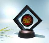 El rectángulo de regalo más nuevo de la película plástica, rectángulo creativo del emblema