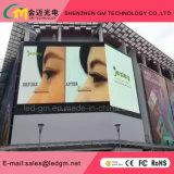 Servies anteriore esterno che fa pubblicità alla grandi visualizzazione di LED/schermo/comitato/tabellone per le affissioni