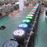 luces de la etapa de la IGUALDAD del disco DMX LED de 24X18W Rgbwauv 6in1 DJ