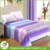 Tamanho de folha de cama romântico de luxo personalizado