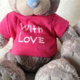 Ben met Teddybeer van het Stuk speelgoed van de Flarden van de Kwaliteit van de Liefde de Grijze Zachte