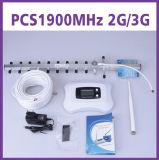 amplificador de la señal del aumentador de presión 2g 3G de la señal de 70dBi 1900MHz