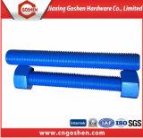 A193 B7二重高品質の端によって通される棒/スタッドのボルト