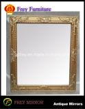 Mosaico de moda Moldura de espelho de madeira de retângulo decorativo