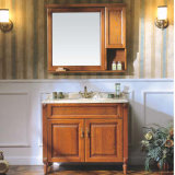 Cheap Price Contemporary Bathroom Cabinet Vanity and Sink (GSP14-039)