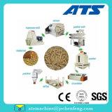 Ce Biomass Rice Husk Paja de madera pellets máquina para la línea de pellets