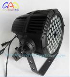 54PCS*3W RGBWのマルチカラー防水洗浄イベントの同価ライト