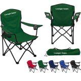 Cadeira de acampamento personalizada da praia da impressão