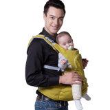 Elemento portante Hip respirabile dell'involucro del bambino del cotone della sede con la protezione del vento