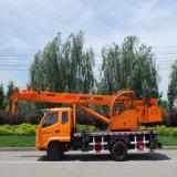 10t容量の中国油圧トラックのクレーン車