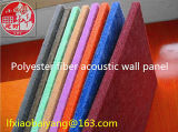 Material de absorção de som de fibra de poliéster painel de parede painel acústico 3D Painel de decoração do painel de teto