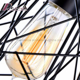 펀던트 램프가 Simpel 디자인 검정 금속에 의하여 밖으로 속을 비게 한다
