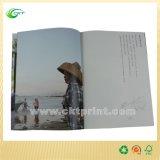 Compartimiento brillante del papel de arte de A4/A5 Cmyk de la impresión barata del libro (CKT-BK-410)