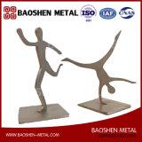 Métiers en métal/cadeaux de promotion/décorations à la maison/de bureau sport de sculpture en métal d'art