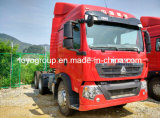 De Vrachtwagen van de Tractor van Sinotruk T5g 6X4 met 340HP