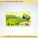 ID 카드를 위한 서명 Barcode를 가진 주문을 받아서 만들어진 인쇄 카드