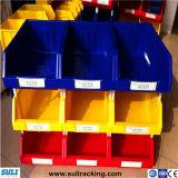 Escaninhos de armazenamento Stackable plásticos, escaninhos das peças sobresselentes