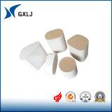 Catalizadores de cerámica revestidos de capa del panal