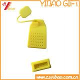 Tamiz colorido del té del silicón del silicón del grado de Infuser /Food del té del silicón