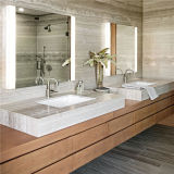Espejo puesto a contraluz cuarto de baño encendido libre del espejo de vanidad de la niebla IP44