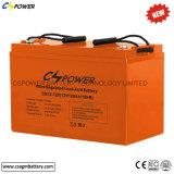 12V 120ah tiefe Schleife-AGM gedichtete Leitungskabel-saure Solarbatterie