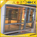 Marco de aluminio de aluminio del marco de puerta del lingote del OEM para la puerta deslizante de cristal