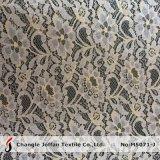 Telas africanas del cordón del oro de la manera (M5071-J)